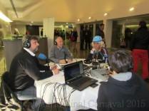 Protagonistas del carnaval de Alhaurín el Grande con Alhaurin TV y Alhaurín Radio